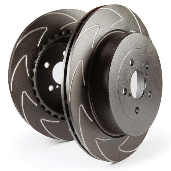 EBC Bremsscheiben Satz High-Carbon Blade Disc Black (BSD) Hinterachse BSD1057 mit ABE